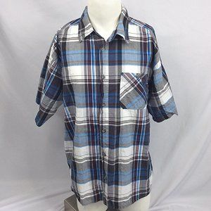 Stillwater Supply Short Sleeve Button Down Shirt